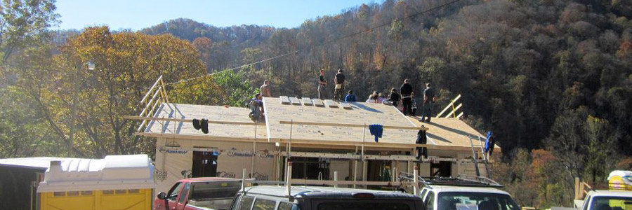 Building a new home for an Appalachian family